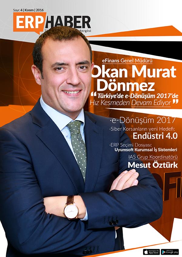 ERP HABER Dergisi Kasım 2016 Sayısı
