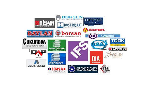 IFS Türkiye ERP Müşterileri