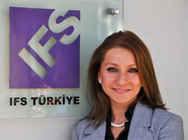 IFS Türkiye Pazarlama Müdür Öznur Tekiner
